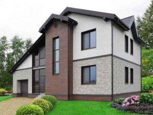Строительство дома из пеноблоков на фундаменте из винтовых свай