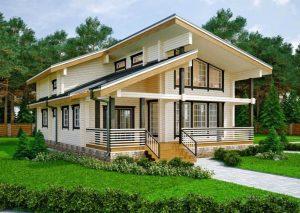 Строительство домов из клееного бруса. Чем они хороши?