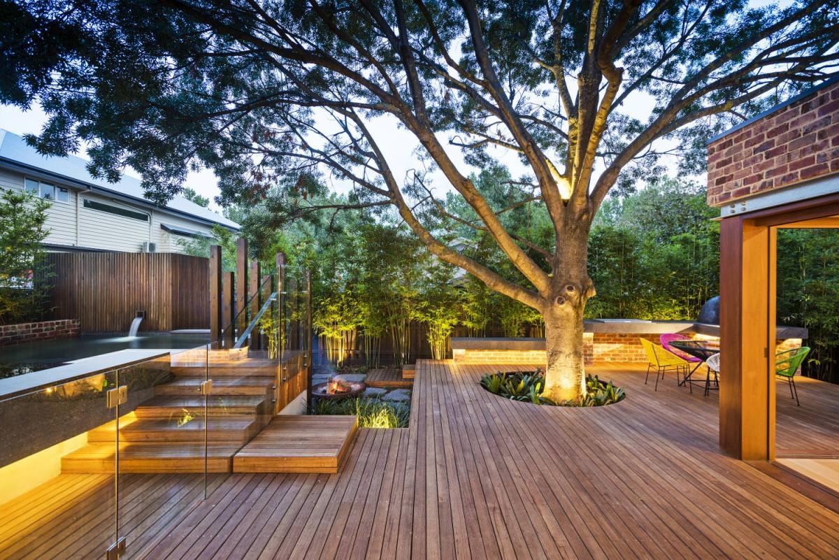 Как создать террасу в загородном доме
