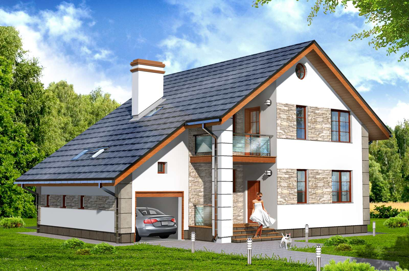 Как воплотить идею строительства дома вашей мечты