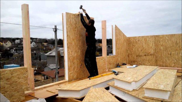 Какие преимущества технологии строительства из SIP-панелей