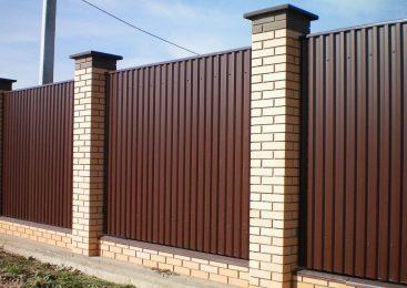 Забор — материалы для строительства заборов – обзор самых популярных