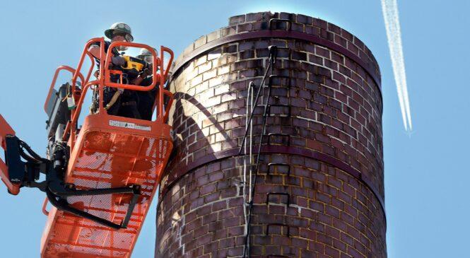 Дымовые трубы: их ремонт и демонтаж