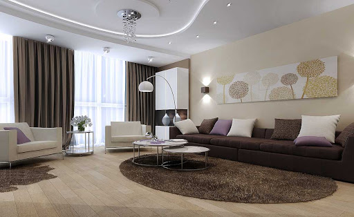 Дизайн интерьера для гостиной