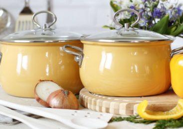 Особенности эмалированной посуды
